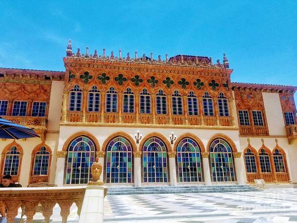 Photograph - Ringling Mansion 2019 by Rachel Hannah