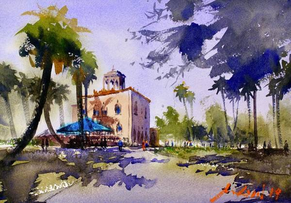 Wall Art - Painting - Ringling Museum Of Art by Max Good