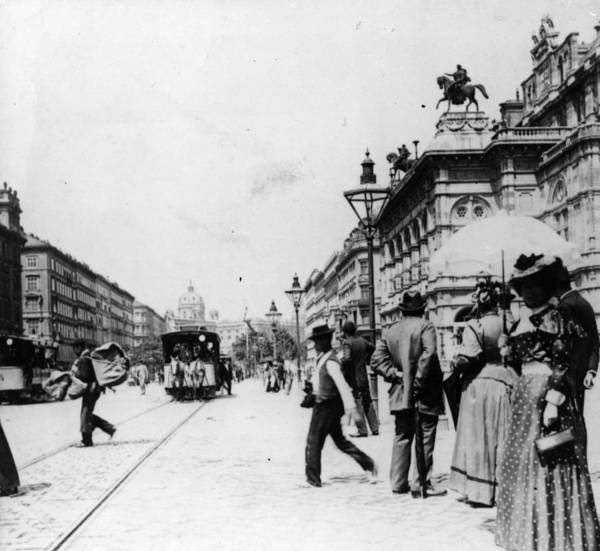 Dress Photograph - Ringstrasse by Hulton Archive