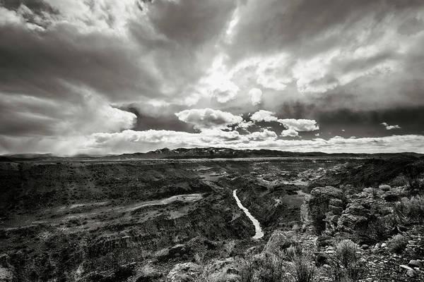 Photograph - Rio Grande Gorge From West Rim Trail by Robert Woodward