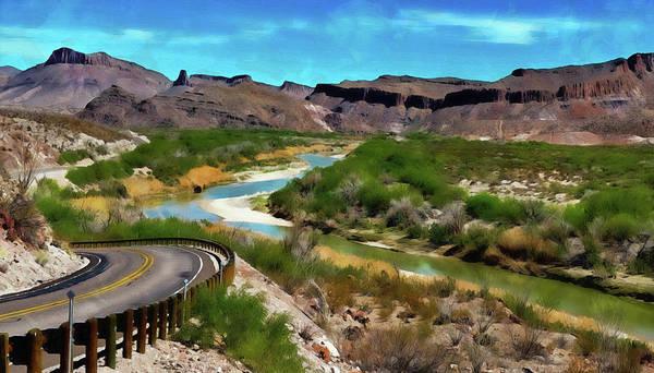 Painting - Rio Grande Valley by Andrea Mazzocchetti