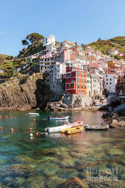 Wall Art - Photograph - Riomaggiore Harbour, Cinque Terre, Liguria, Italy by Matteo Colombo