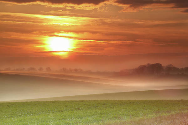 Free Range Photograph - Ripples In Mist by Andy Freer