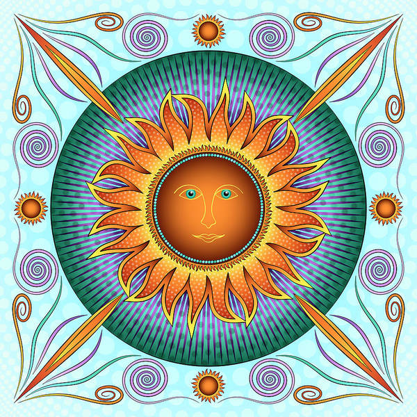Digital Art - Rise And Shine by Becky Titus