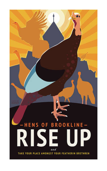 Digital Art - Rise Up by Caroline Barnes