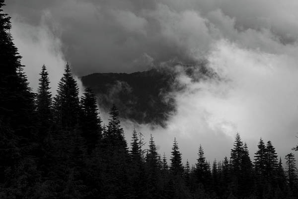 Photograph - Rising Clouds In Mountains by Yulia Kazansky