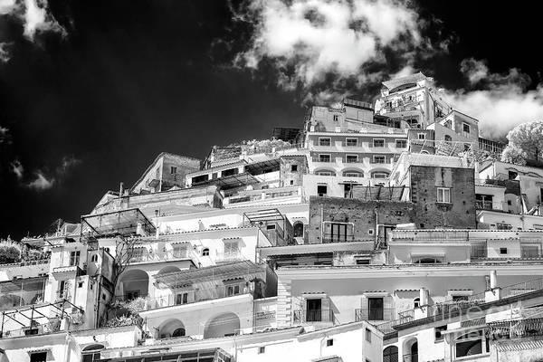 Wall Art - Photograph - Rising Positano Infrared by John Rizzuto