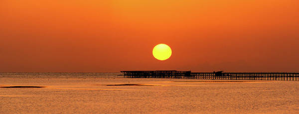 Photograph - Rising Sun In Nabq Bay by Sun Travels
