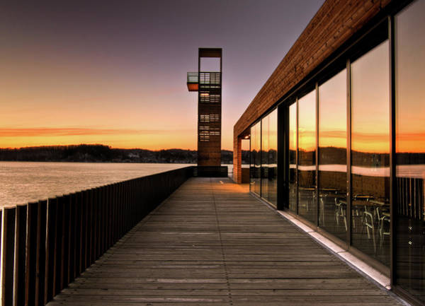 Quebec City Photograph - Rising Sun by Louis Chiasson
