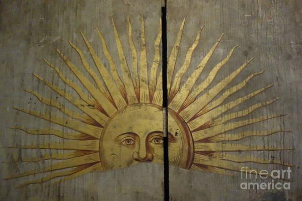 Photograph - Rising Sun Tavern Sign 1816 by Susan Carella