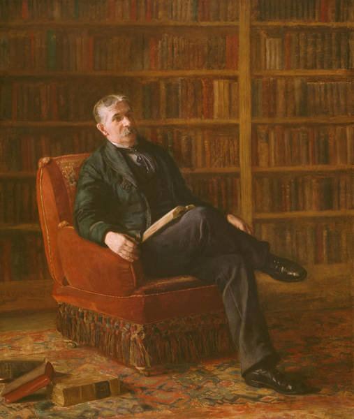Wall Art - Painting - Riter Fitzgerald by Thomas Eakins