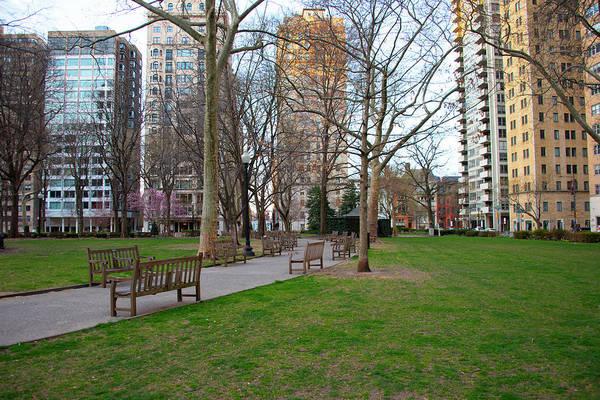Rittenhouse Square Wall Art - Photograph - Rittenhouse Square Park In The Morning - Philadelphia by Bill Cannon