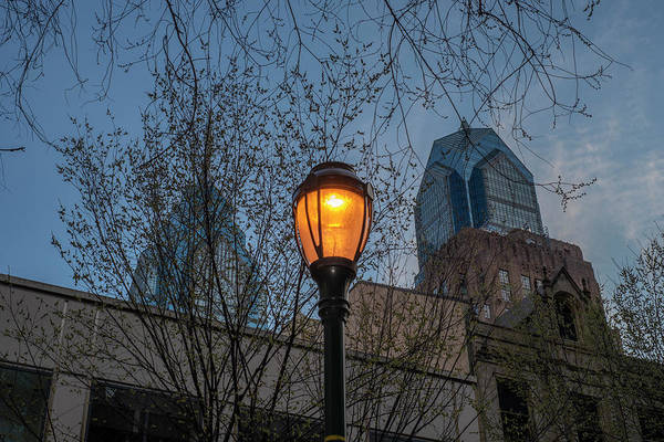 Wall Art - Photograph - Rittenhouse Square Street Lamp by Bill Cannon