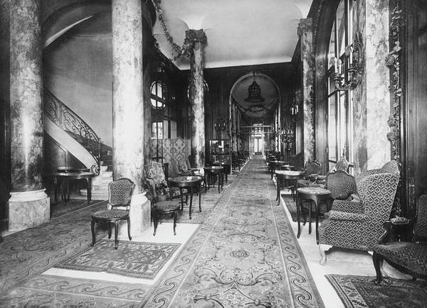 Carlton Hotel Photograph - Ritz Interior by H. C. Ellis