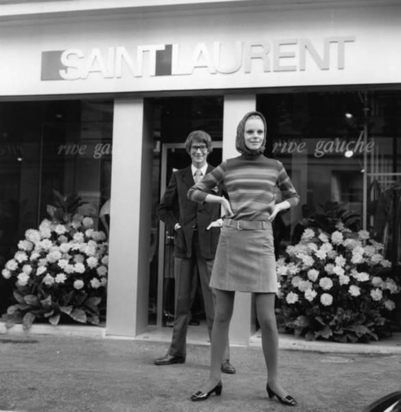 Clothing Store Photograph - Rive Gauche by Reg Lancaster
