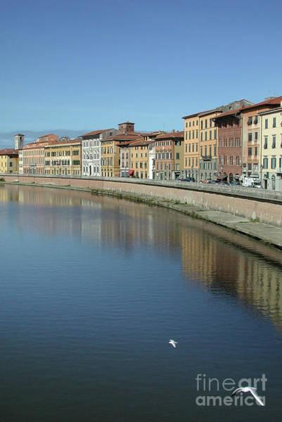 Wall Art - Photograph - River Arno Pisa by John Edwards