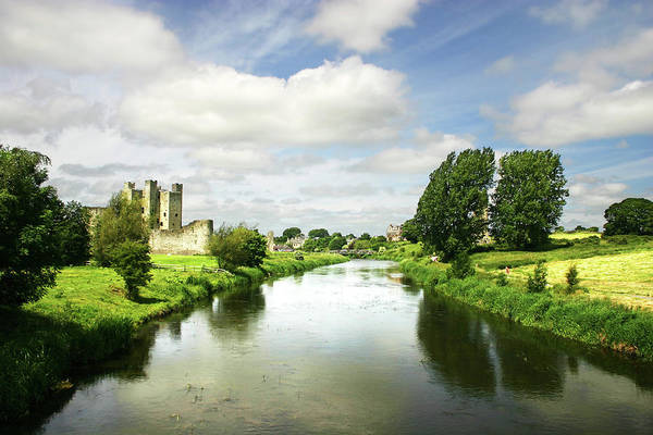 Playing Field Photograph - River Boyne by Revolution-gd
