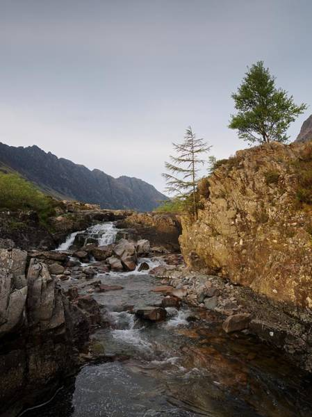 Photograph - River Coe Falls by Stephen Taylor