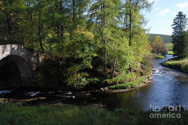 Photograph - River Don At Poldullie Bridge by Phil Banks