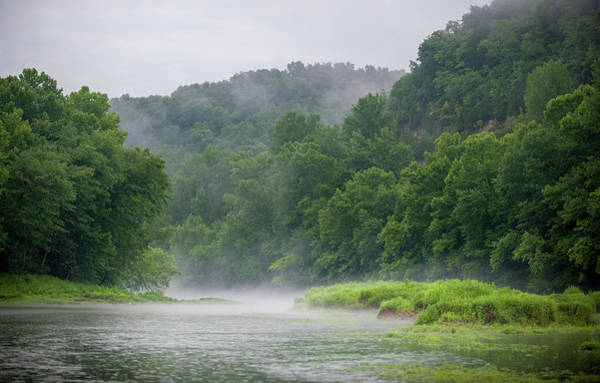 Photograph - River Mist by Mark Duehmig
