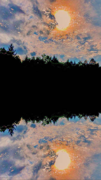 Photograph - River Reflections by JimO Ogilvie