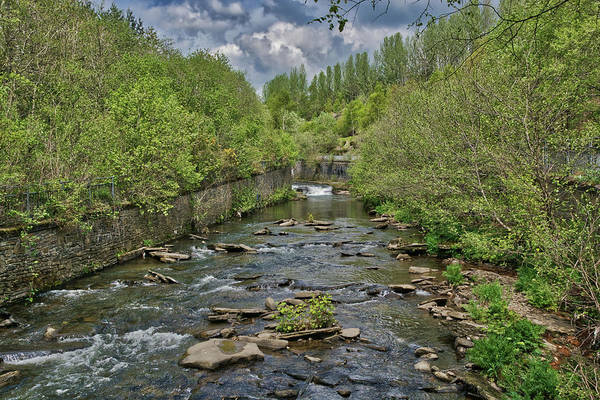 Photograph - River Rhymney In Springtime by Steve Purnell