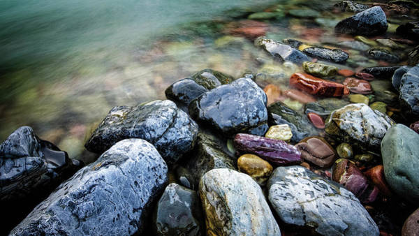 Photograph - River Rocks by Jake Sorensen