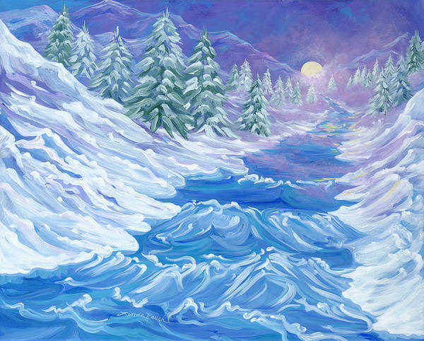 Painting - River Song by Linda Rauch