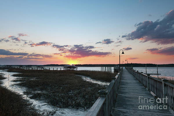 Photograph - River Sunset - Rivertowne On The Wando by Dale Powell