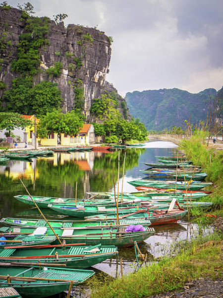 Photograph - River View Tam Coc Vietnam by Gary Gillette