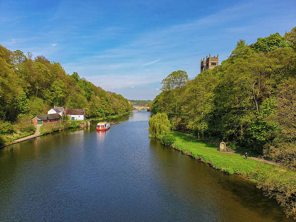 Photograph - River Wear Spring Beauty In Durham by Iordanis Pallikaras