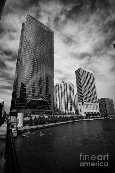 Wall Art - Photograph - Riverpoint, Riverfront Park And Riverbend Residences Apartment Blocks And Office Buildings Wolf Poin by Joe Fox