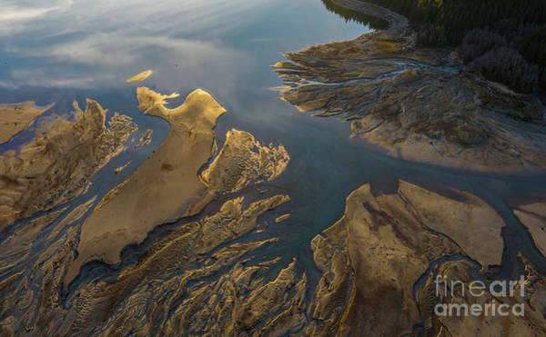 Wall Art - Photograph - Rivers Converging Flow by Mike Reid