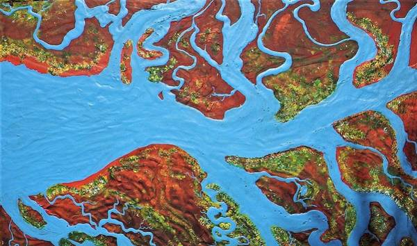 Painting - Rivers On The Cape York by Joan Stratton