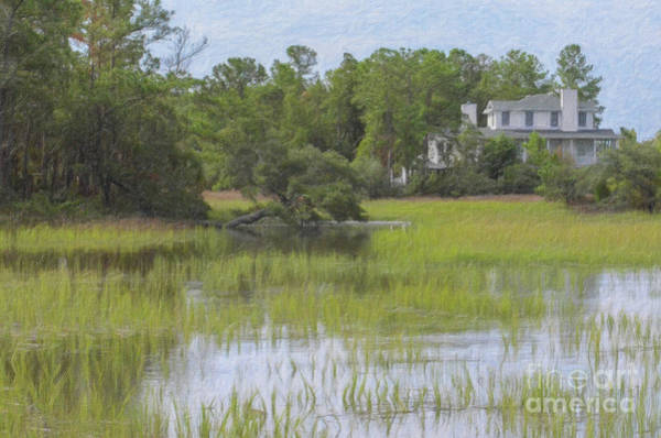 Painting - Rivertowne On The Wando - Salt Marsh by Dale Powell
