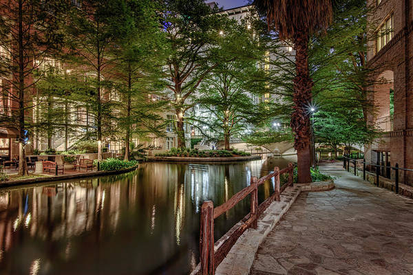 Photograph - Riverwalk Early Morning I by Steven Sparks