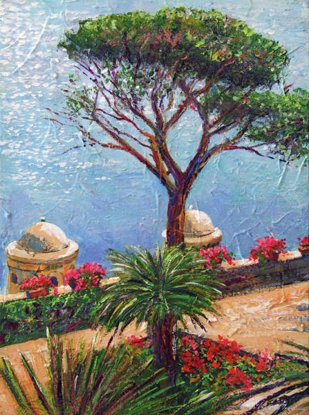 Painting - Riviera Umbrella Tree by David Lloyd Glover