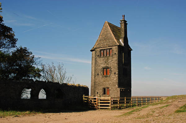 Photograph - Rivington. The Pigeon Tower. by Lachlan Main