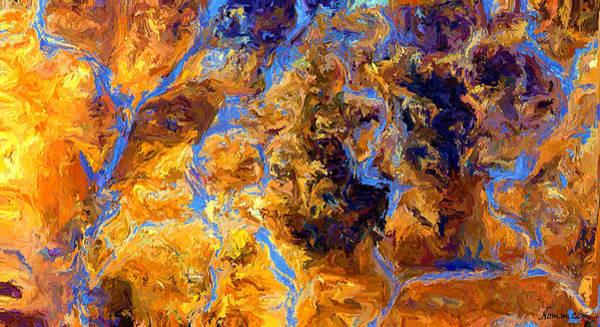 Digital Art - Rivulets by Rein Nomm