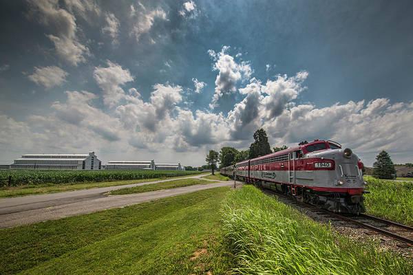 Wall Art - Photograph - Rj Corman My Old Kentucky Dinner Train  At Deatsville Kentucky by Jim Pearson