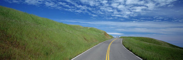 Wall Art - Photograph - Road At The Hillside, Marin County by Panoramic Images