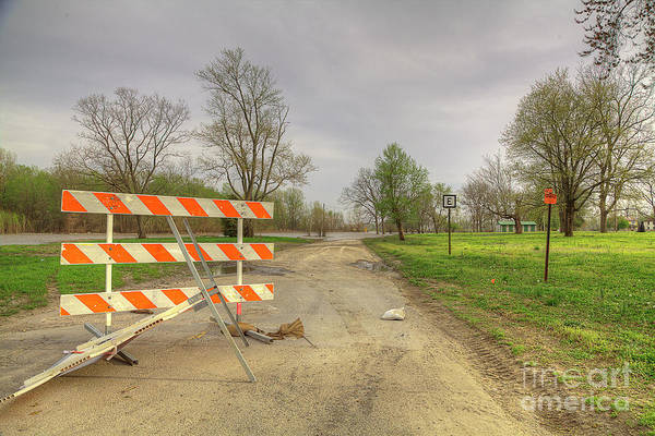 Wall Art - Photograph - Road Closed  by Larry Braun