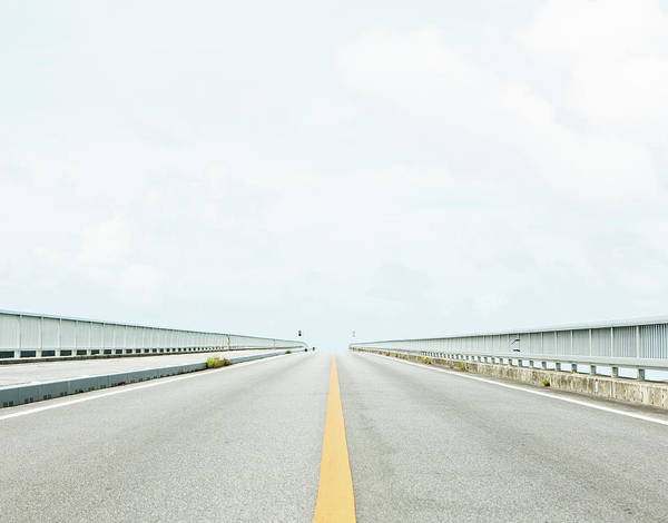 Okinawa Photograph - Road Leading Into The Distance by Yusuke Murata