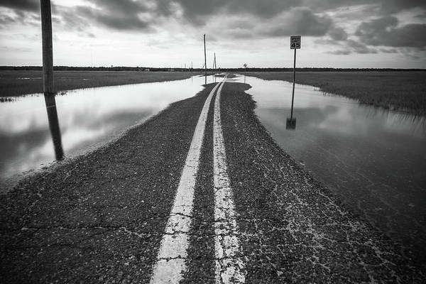 Photograph - Road May Be Flooded by Kristopher Schoenleber