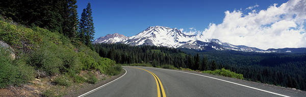 Wall Art - Photograph - Road Mt Shasta Ca by Panoramic Images