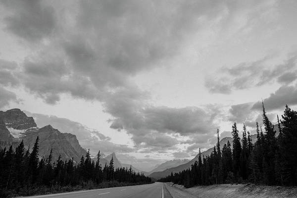 Wall Art - Photograph - Road Passing Through Banff National by Panoramic Images