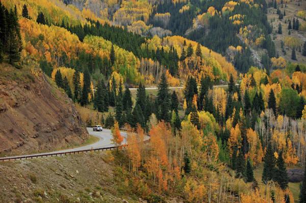 Silverton Photograph - Road To Autumn by Piriya Photography