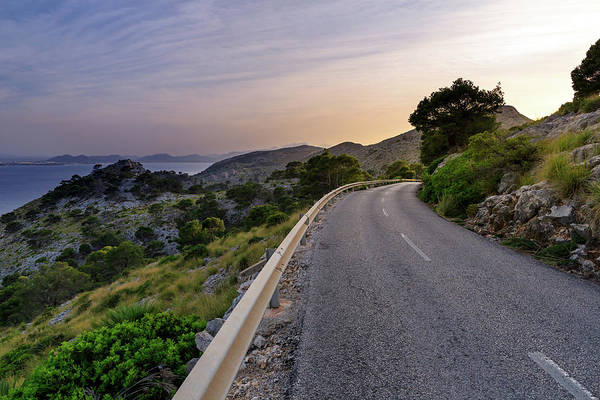 Rock Island Line Photograph - Road To Cap De Formentor - Mallorca by Mf-guddyx