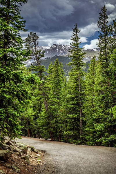 Photograph - Road To Echo Lake, Colorado by Jeanette Fellows