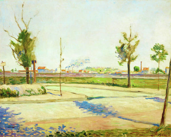 Neo-impressionism Wall Art - Painting - Road To Gennevilliers - Digital Remastered Edition by Paul Signac
